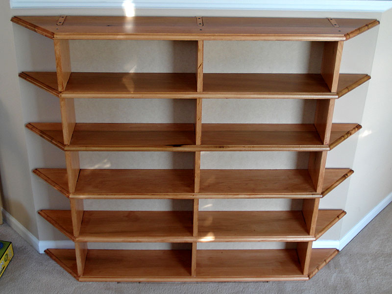 dvd shelf plans wood diywoodplans