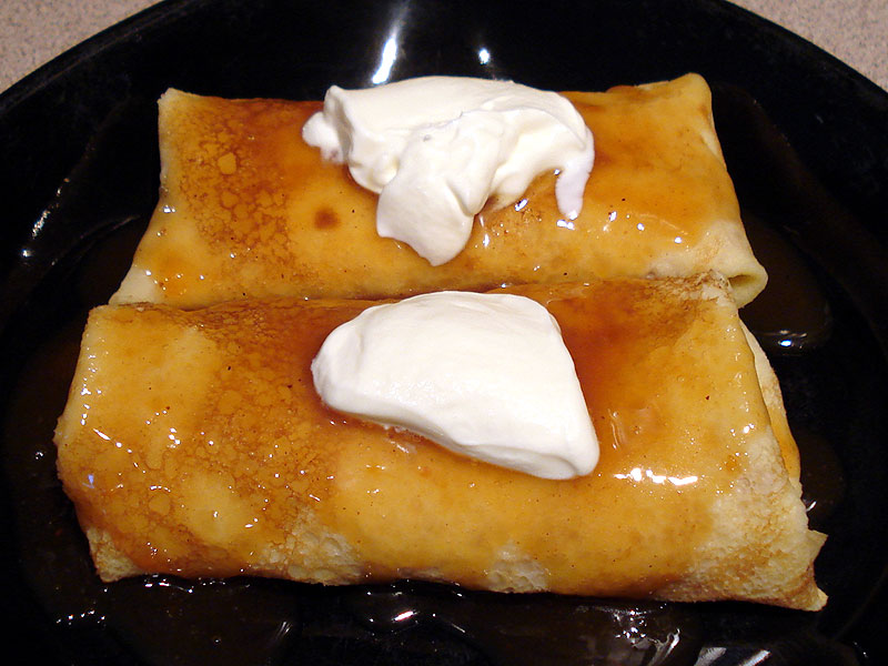 Coconut Crepes With Fresh Mangoes Recipes — Dishmaps