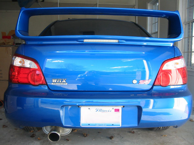 Il Naperville Wr Blue Sti Trunk For Trade With Stock